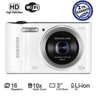 "Samsung WB30F 16 MP 10X Optik Zoom 3"" LCD Ekran Dijital Fotoğraf Makinesi"