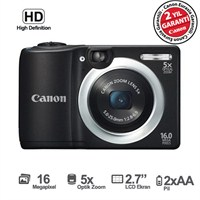 "Canon Powershot A1400 16 MP 5X Optik Zoom 2,7"" LCD Dijital Fotoğraf Makinesi"
