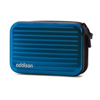 Addison 300236 Mavi Alüminyum Kamera Çantası
