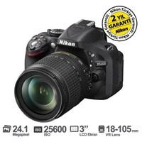 Nikon D5200 18-105 VR Kit 24.1 MP Dijital SLR Fotoğraf Makinesi