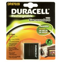 Duracell DR9702B Panasonic VW-VBG260 Kamera Pili
