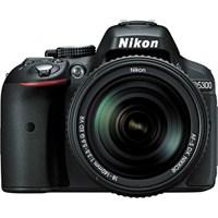 """Nikon D5300 + 18-140MM F3.5-5.6G VR KIT 24,2MP 3"""" LCD Dijital SLR Fotoğraf Makinesi"""
