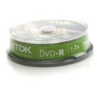 TDK DVD-R Cam 30 min. 1.4GB Cake DVD KAMERALAR İÇİN 10'LU PAKET