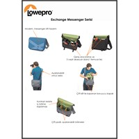 Lowepro Exchange Messenger SLR Omuz Çantas Gri