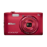 "Nikon Coolpix S3600 20 MP 8x Optik Zoom 2.7"" LCD Ekran Dijital Fotoğraf Makinesi"