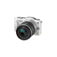 "Panasonic DMC-GF5K LUMIX G VARIO 14-42mm 12.1 MP 3.0"" LCD Ekran Beyaz"