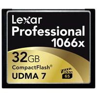 Lexar 32GB 1066x Professional Compact Flash Hafıza Kartı LCF32GCRBEU1066