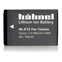 Hahnel HL-E12 Canon LP-E12 Dijital Kamera Pili