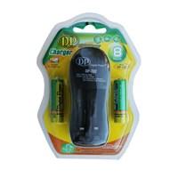 Digital Power DP-702A Pil Şarj Cihazı (AA/AAA/Ni-Mh/Ni-Cd) + 2x2700 mAh Şarj Edilebilir Pil Hediyeli