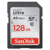 Sandisk Ultra SDXC 128GB 40MB/s Class 10 UHS-I Hafıza Kartı SDSDUN-128G-G46