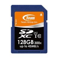 Team 128GB Full HD Profesyonel SDXC UHS-I 45/15 MB/s Flash Hafıza Kartı (TMSDXC128GC10)