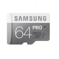 Samsung 64GB MicroSD Pro Class10 (90-80mb/sn) Hafıza Kartı + SD Adaptör MB-MG64DA/TR