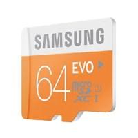 Samsung 64GB MicroSD Evo Class10 48mb/sn Hafıza Kartı + SD Adaptör MB-MP64DA/TR