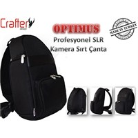 Crafter Design Optimus Slr Kamera Sırt Çantası