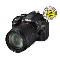 Nikon D3200 18-105mm VR Kit 24 MP Dijital SLR Fotoğraf Makinesi