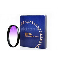Beta 52Mm Gradual Degrade Kademeli Purple Mor Gündoğumu Filtre