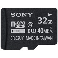 Sony Sr32uya Yüksek Hızlı 32Gb Microsd Kart