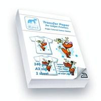 Rovi Açık Renk Pamuklu Kumaşlar İçin Transfer Kağıdı - 1Yp - A3
