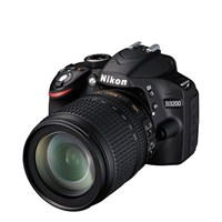 Nikon D3200 + 18-105 Mm Lens Fotoğraf Makinesi (İthalatçı Garantili)