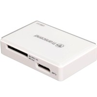 Transcend TS-RDF8K USB 3.0 Çoklu Kart Okuyucu Beyaz