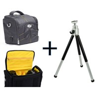 Iconic SENSOR30 SLR Kamera Çantası+30cm Masa Tripodu