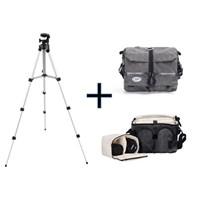 Iconic MACRO130 SLR Kamera Çantası+130cm Tripod(Taşıma Çantası Hediyeli)