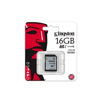 Kingston 16GB Class10 UHS-I SDHC Hafıza Kartı (45MB/s) SD10VG2/16GB