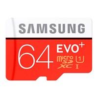 Samsung 64GB MicroSD Evo Plus Class10 80mb/sn Hafıza kartı + SD Adaptör MB-MC64DA/TR