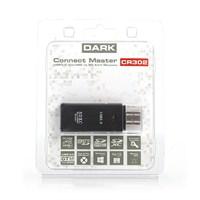 Dark UCR302 USB3.0 SDXC/SDHC/MicroSD Kart Okuyucu (DK-AC-UCR302CR) Siyah