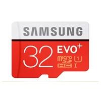 Samsung 32GB MicroSD Evo Plus Class10 80mb/sn Hafıza Kartı + SD Adaptör MB-MC32DA/TR