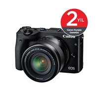 Canon EOS M3 18-55mm IS STM Lens Aynasız SLR Fotoğraf Makinesi