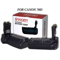 Canon 70D Sanger Battery Grip