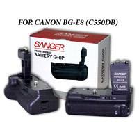 Canon 550D 600D 650D Bg-E8 Sanger Battery Grip