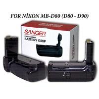 Nikon D90 D80 Mb-D80 Sanger Battery Grip