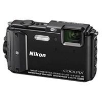 NIKON - Coolpix AW130 Black Fotoğraf Makinesi