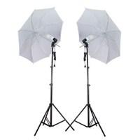 Fancier Fan 639 65W Spiral 2 Li Set Sürekli Video Işık Şemsiyeli