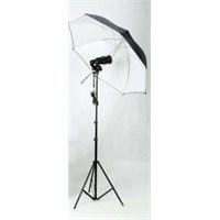 Weifeng 38S Ampulflash 1X2 Set Reflektör Şemsiyeli