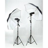 Weifeng 38S Ampulflash 2X4 Set Reflektör Şemsiyeli