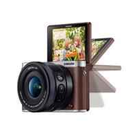 Samsung NX3000 16-50mm PZ Kit Lens Aynasız DSLR Fotoğraf Makinesi (Flaş Hediyeli)