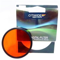Citiwide 72Mm Full Turuncu Filtre
