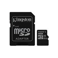 Kingston 16GB MicroSDHC Class10 UHS-I 45MB/s Hafıza Kartı SDC10G2/16GB 43,03 TL