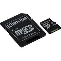Kingston 128GB MicroSDHC Class10 UHS-I 45MB/s Hafıza Kartı SDC10G2/128GB