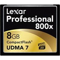 Lexar 8GB 800x Professional Compact Flash Hafıza Kartı (LCF8GBCRBEU800)