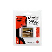 Kingston 64GB CompactFlash 600X Ultimate Hafıza Kartı CF/64GB-U3