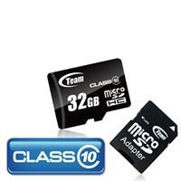 Team 32GB Class 10 Ultra MicroSD Hafıza Kartı + SD Adaptör (TMMSD32GC10)