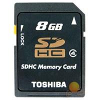 Toshiba 8 GB Class 4 SDHC Hafıza Kartı