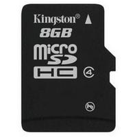 Kingston 8 GB Class 4 Micro SDHC Hafıza Kartı SDC4/8GB