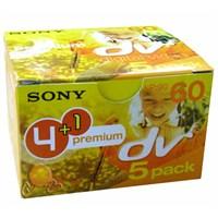 Sony DVM 60 PR3 Kamera Kaseti 4 + 1