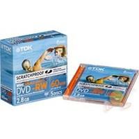 TDK DVD-RW 28SP 60 Dak. Boş DVD Kameralar İçin 1 Adet
