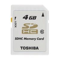 Toshiba 4 GB Class 10 SDHC Hafıza Kartı